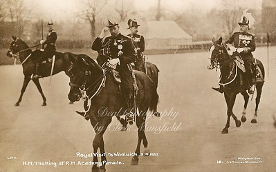 April 9th 1913 King George 5th visits Royal Military academy