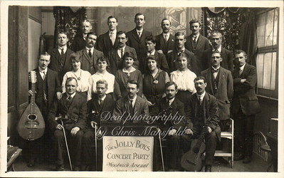 1914-15 Woolwich Arsenal Jolly boys concert party