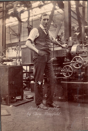 Royal arsenal worker, approx' 1920s