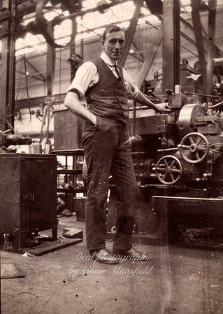 Arsenal worker ,  approx' late 1930s