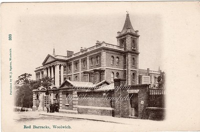Eraly 1900s. Red Barracks, Frances street