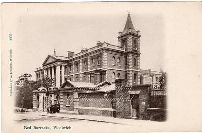 Eraly 1900s. Red Barracks, Frances street