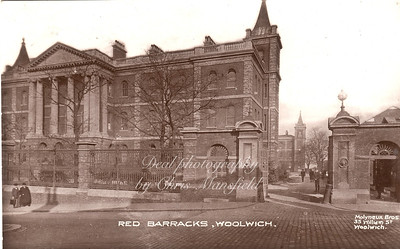 Early 1900s, Red Barracks Frances street