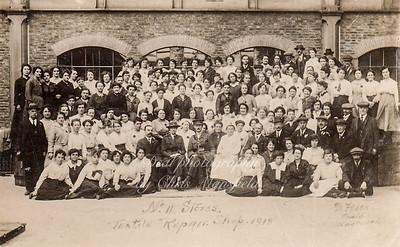 1918 Textile repair shop