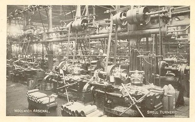 Postcard .. Shell Turnery