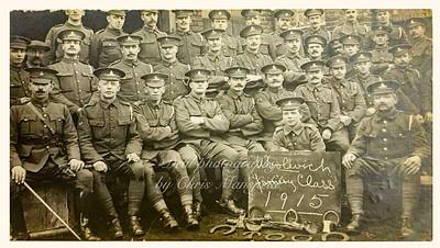 1915.  Woolwich Farriers class