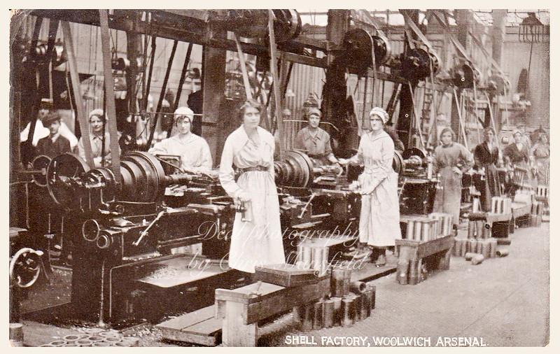 WW1 Shell factory