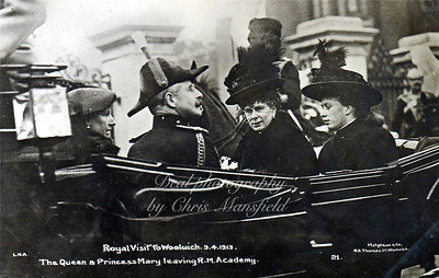 April 9th 1913. Royal visit to Woolwich