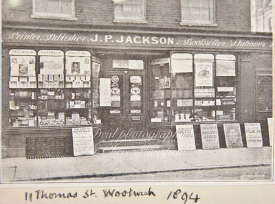 1894. Jacksons printers in Thomas street