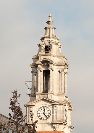 Dec' 11th 2010 .. repairs to town hall spire