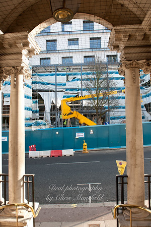 Feb 9th 2011.. Woolwich centre under construction
