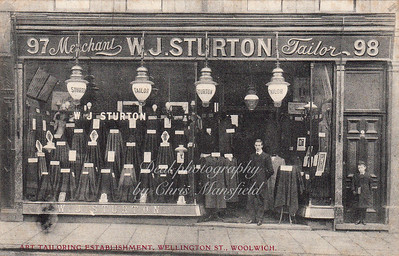 WJ Sturton, 98, Wellington street
