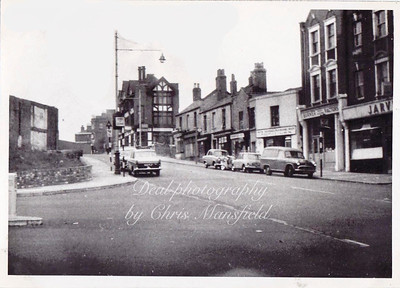 1964.  Artillery place taken from the corner of Grand depot road