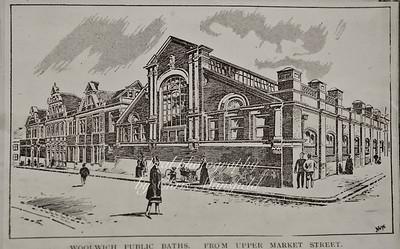 Approx' 1900.. Woolwich baths