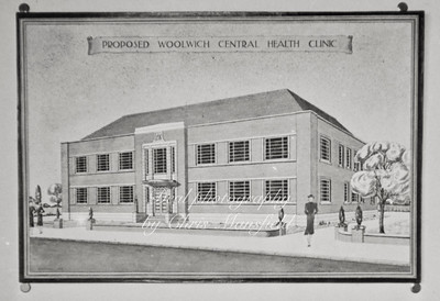 Late 1930s .. Market street Health centre