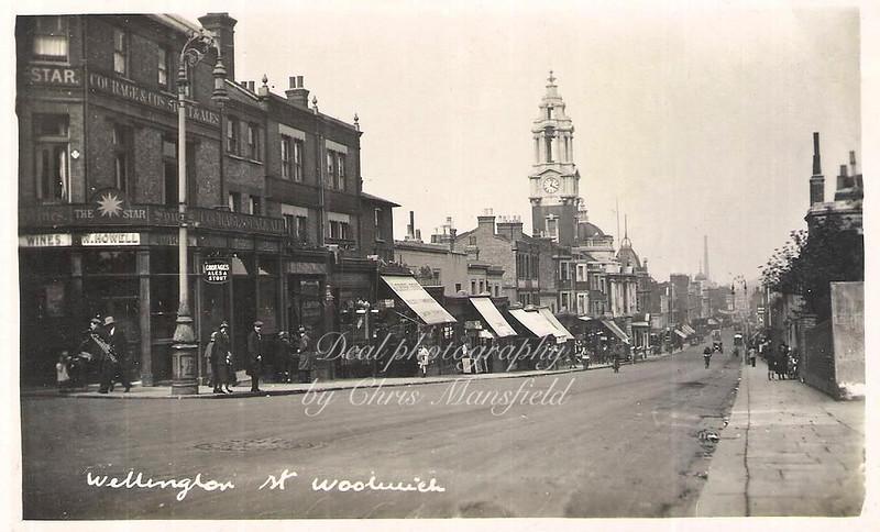 Approx' 1920 Wellington street