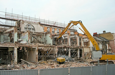 October 18th 2007.  Demolition of council offices in Wellington street
