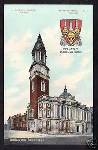 Town Hall Postcard