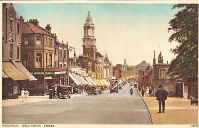 Early Postcard Wellington street , around 1910