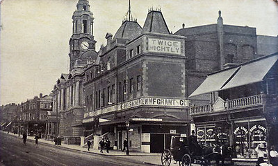 The Woolwich Hippodrome.