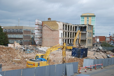 November 8th 2007. Demolition of council offices