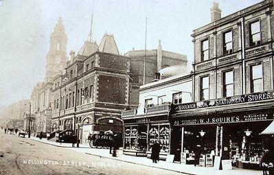 Wellington street .. Approx' 1907 - 1908