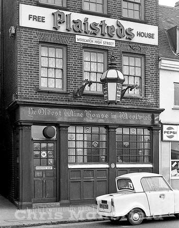 Approx' 1980.. Plaisteds.  Woolwich high street