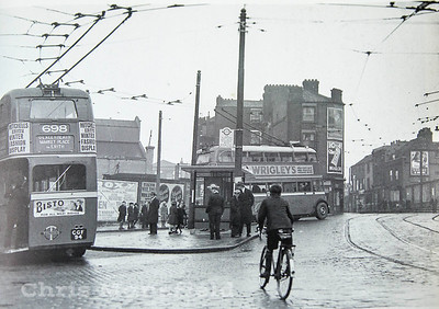 1935,  Woolwich high street and Market hill