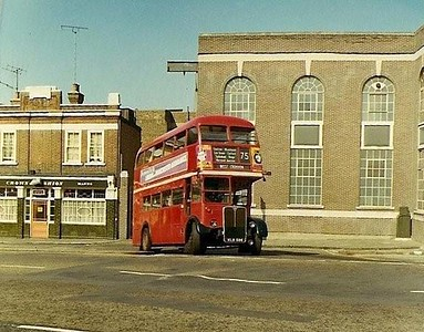 Approx' mid 1970s  Market Hill..Crown & Cushion on left