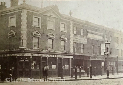 Early 1900s,  Crown and cushion pub on Market hill
