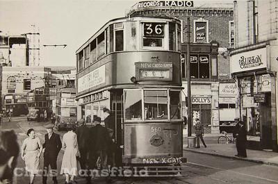 July 1952 . Woolwich High street