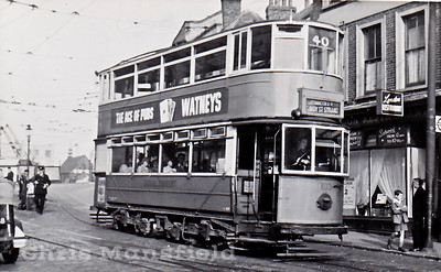 About 1951..  Woolwich High street