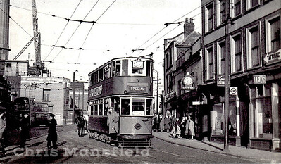 April 1951.. Woolwich High street