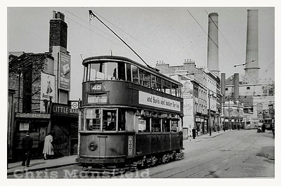 Late 1940s .  Woolwich high street