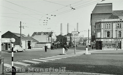Mid 1950s Woolwich high street