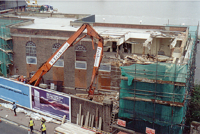 approx 2004  Woolwich Power station Demolition