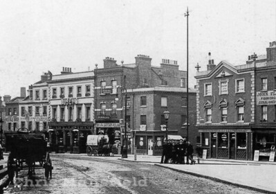 Approx' 1910  two pubs on the high street.