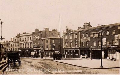 Early 1900s Woolwich high street / Market Hill