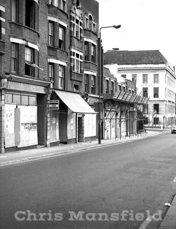 Mid 1980s Woolwich new road