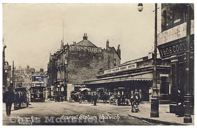 Approx' 1900.  Woolwich new road
