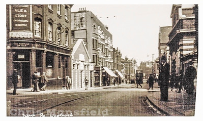 Early Postcard, Woolwich new road