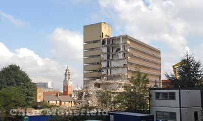 Sept 25th 2008 . Thomas spencer house demolition