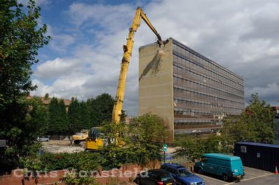 Sept' 1st 2008 . Demolition begins