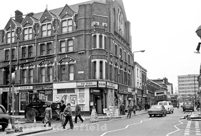 Corner of Vincent road 1980 ..(  with thanks to Richard Lyndsell)
