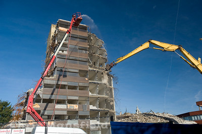 Oct 9th 2008 . Thomas spencer house demolition