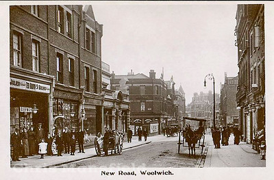 Early 1900s . Woolwich new road