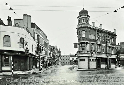 Mid 1950s .  Woolwich new road
