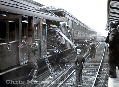 Woolwich Arsenal station crash