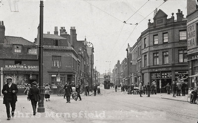 approx' 1926 .  Looking west along Woolwich new road