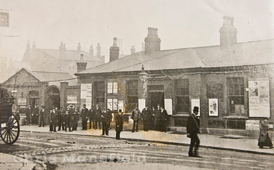 Late 1800s Woolwich Arsenal station